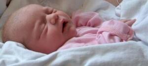 BabyZoneterapi byder dig hjertlig velkommen! En sovende baby