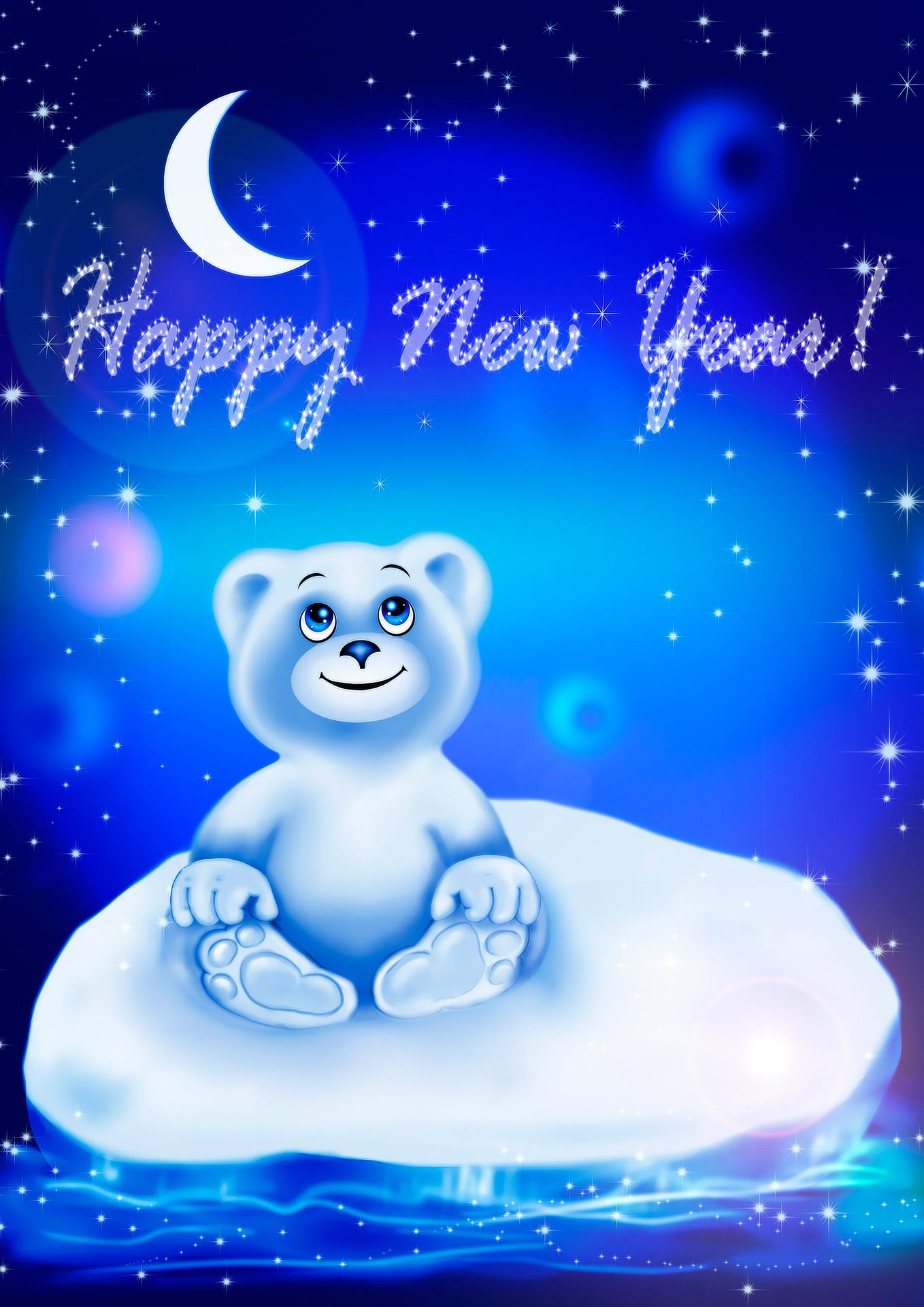 Godt nytår til alle babyer og deres forældre