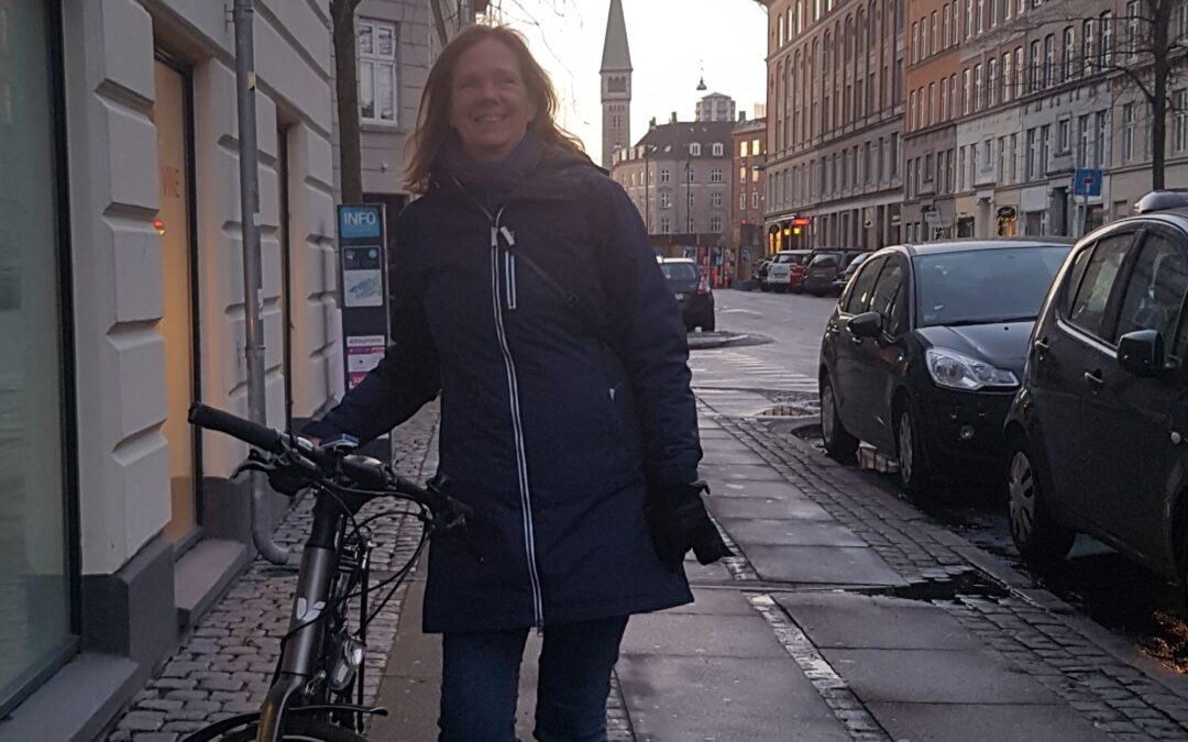 10 år som cyklende babyzoneterapeut