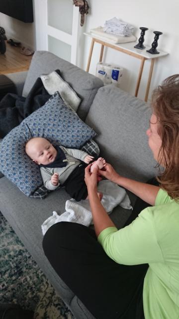 En glad baby giver en glad familie – sådan arbejder jeg!